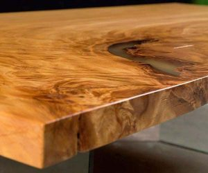 Kauri - Table - Epoxidharz - epoxide resin - Zoom